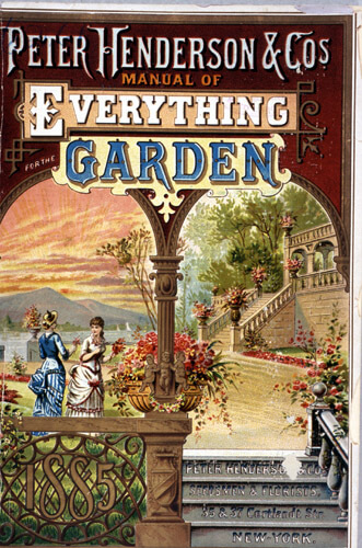 Seed Catalog Cover